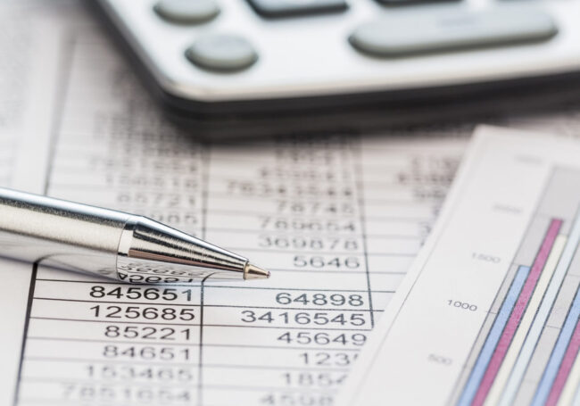 Cost structure numbers