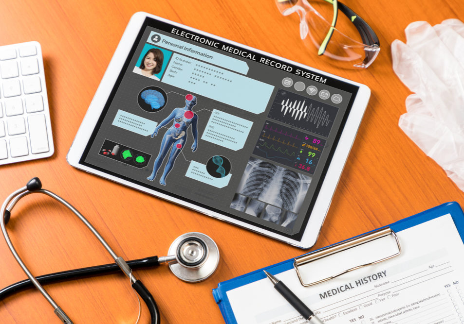 electronic health records on iPad